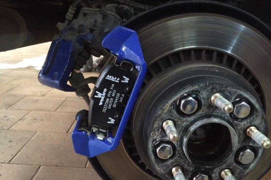 Задние тормозные колодки для Volvo